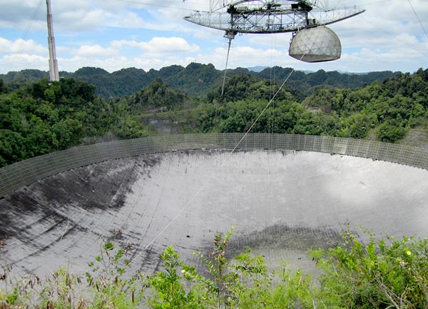 Satellite in Arecibo, Puerto Rico 2011